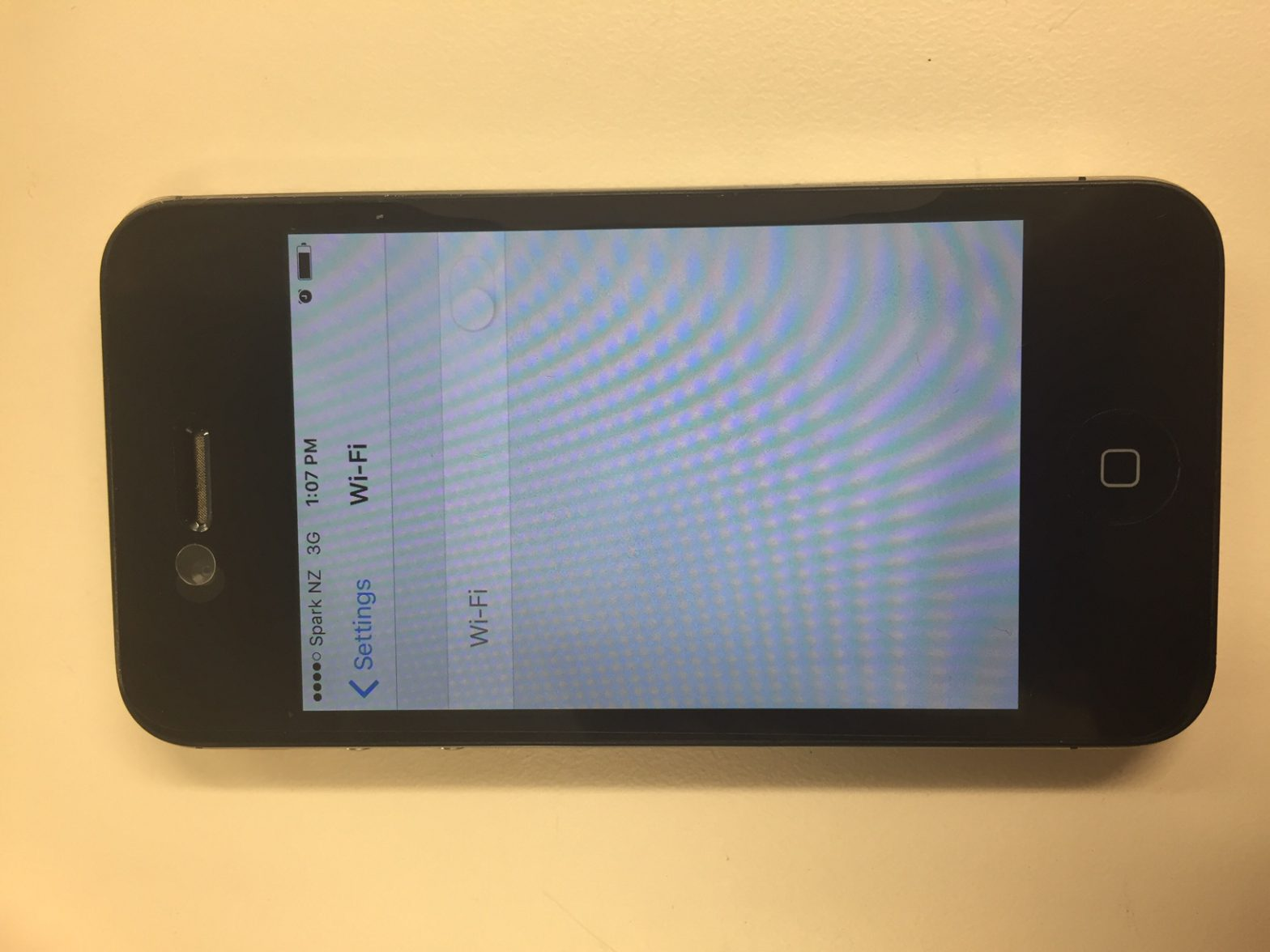 iphone grayed out fix