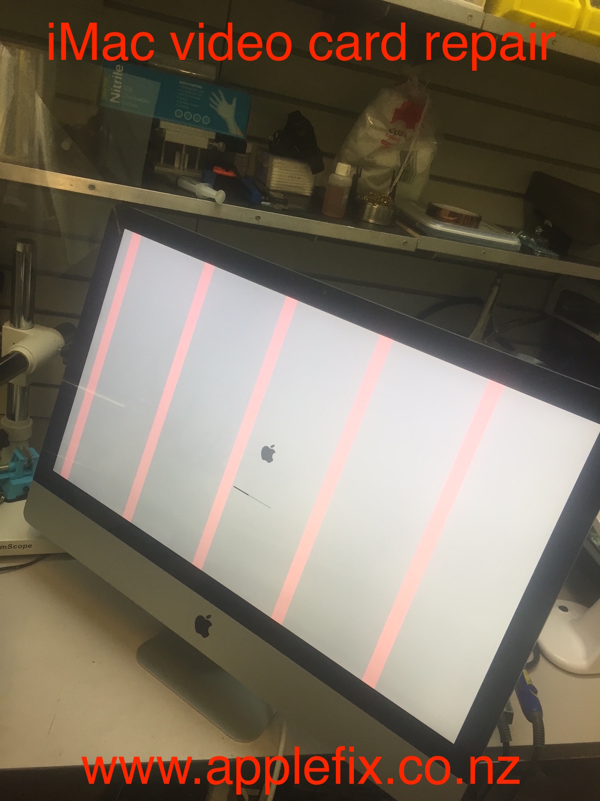 iMac video card repair