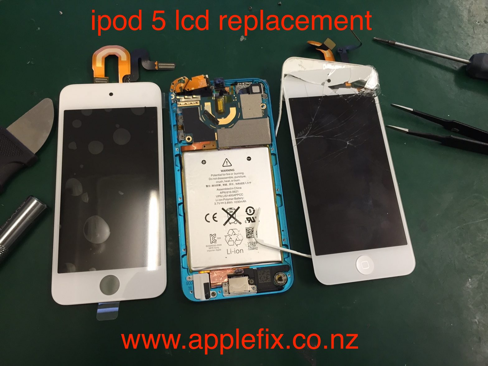 iPod 5 lcd replacement