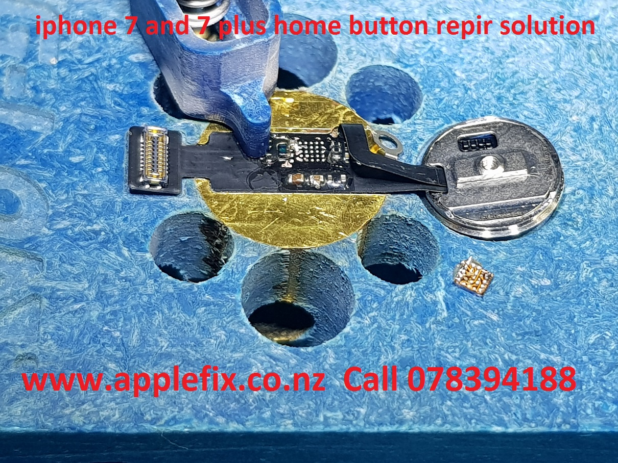 iphone 7 and 7 plus home button repair solution