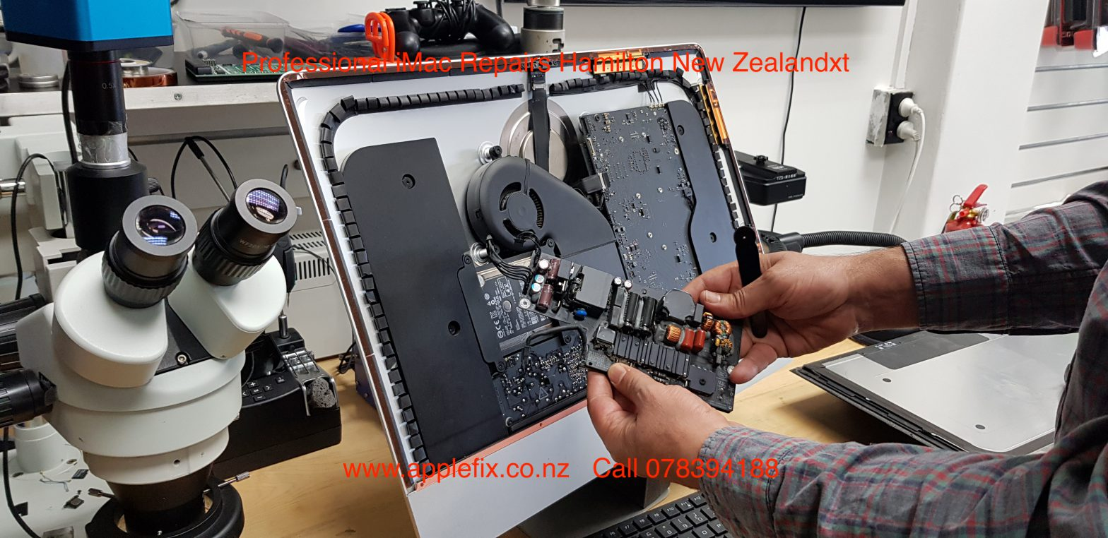 professional iMac repair in hamilton new zealand