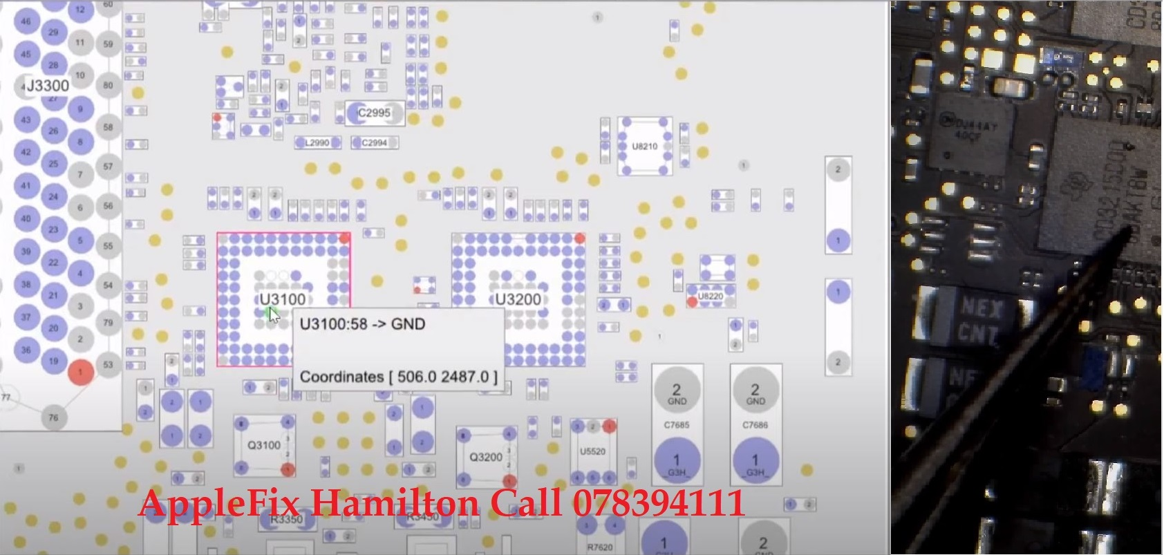 Macbook pro A1708 dead, Type C power IC replacement