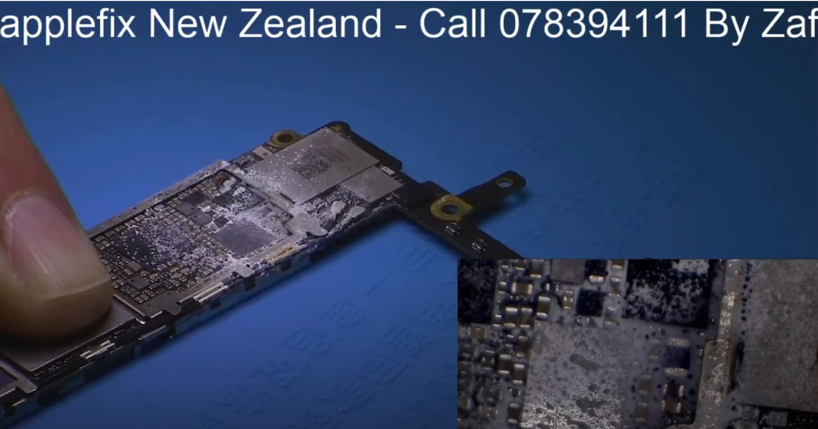 iphone dead repair, how to find faulty component or short on iphone logic board